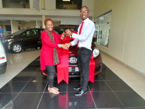 Lerato Phalatse CMH Honda Delivery March 2016