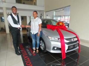 Yolanda Mkiva CMH Honda Delivery March 2016