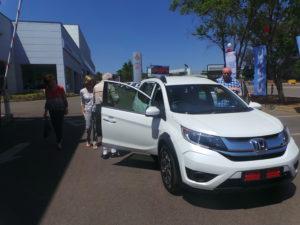 New Honda BR-V