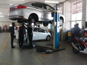 CMH Honda Workshop