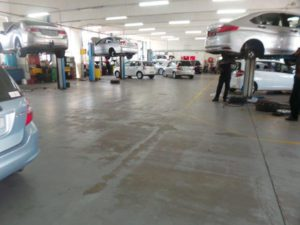 CMH Honda Workshop