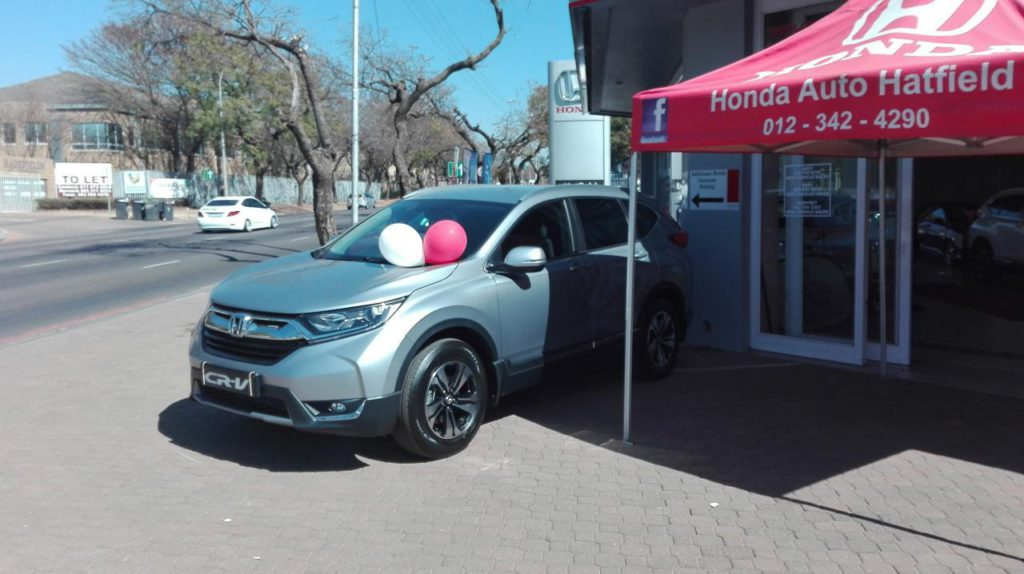 Honda CR-V Launch