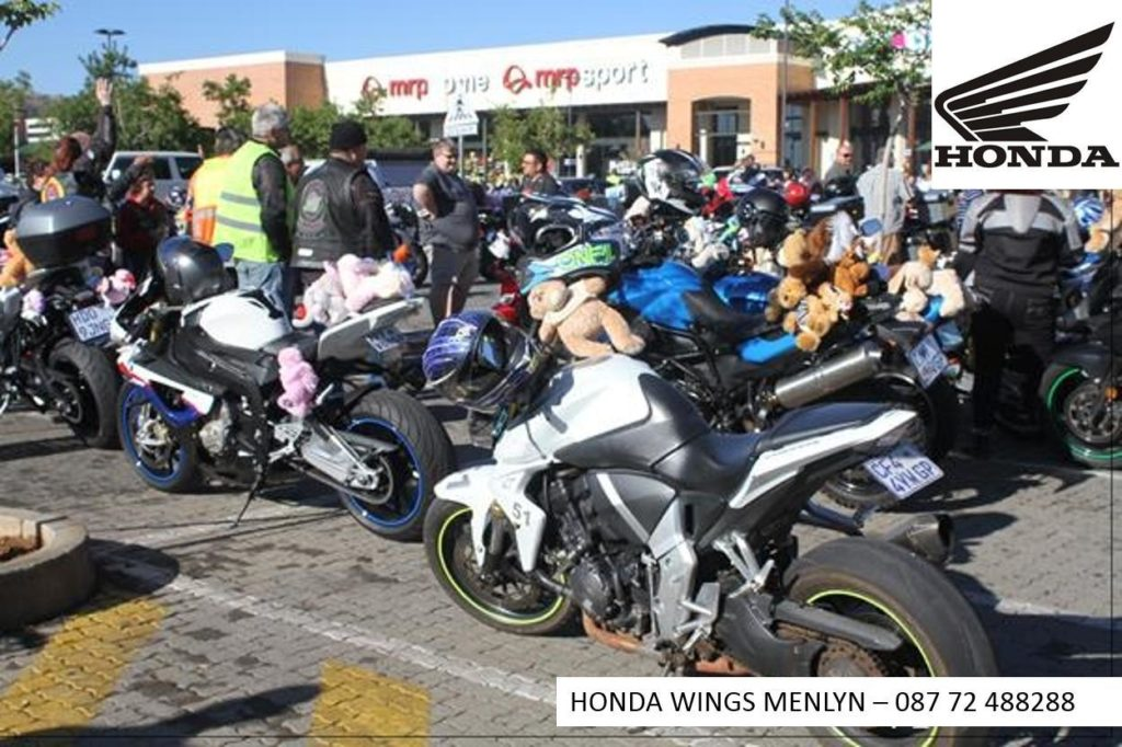 Honda Wings Menlyn Toy Run