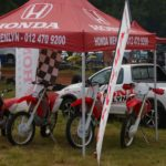 Honda Menlyn Farm Motor bikes display