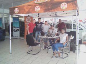 CMH Honda Pinetown- The-Durban-Youth-Radio-Weekend-Experience-Team