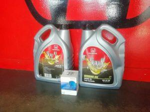 Honda hatfield genuine oil and filter