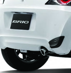 CMH Honda PInetown- Honda Brio Accessory 2 Exhaust Tail Pipe Finisher