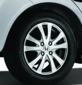 CMH Honda PInetown- Honda Brio Accessory 3 Alloy Wheels