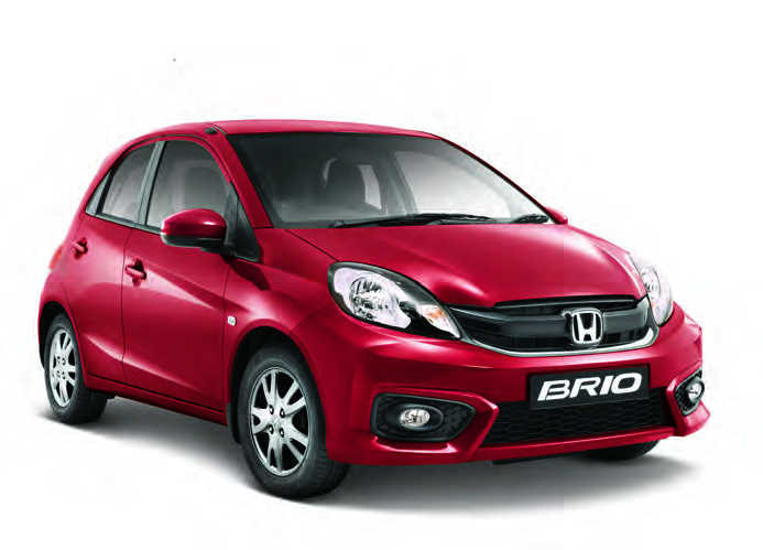 CMH Honda PInetown- Honda Brio Hatch Red