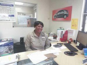 CMH Honda Pinetown-Mary Jane Hlongoane- Service adviser