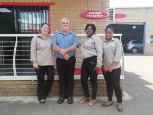 CMH Honda Hatfield- Workshop team