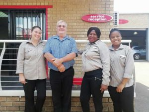 CMH Honda Hatfield- Workshop team