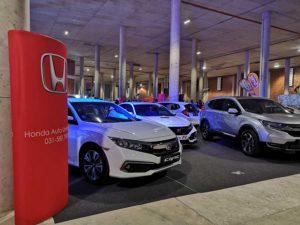 CMH Honda- White honda Civic- Gas Motorshow