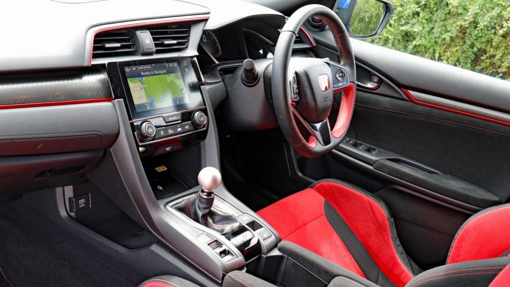CMH Honda Umhlanga- Honda civic Typr-R Hatchback White interior