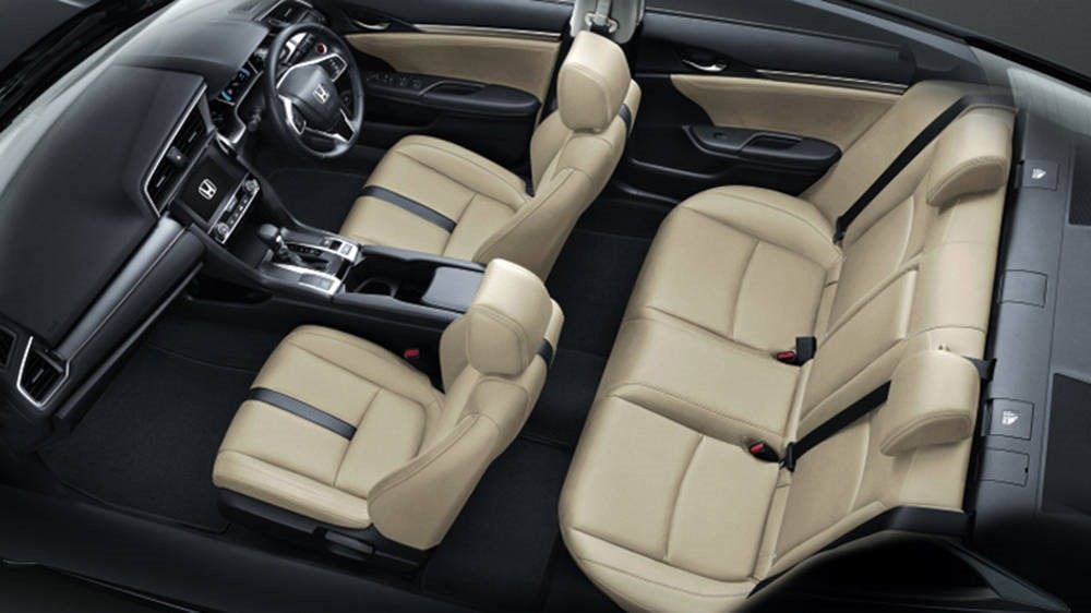 CMH Honda Menlyn- Honda Civic interior seats