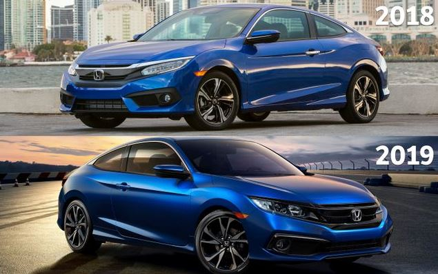CMH Honda Menlyn- Honda Civic Exterior Blue 2018 and  2019