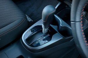 CMH Honda Pinetown- White Honda Jazz Leather gear shift knob