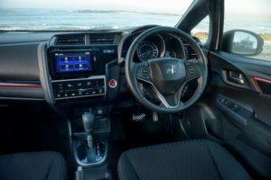 CMH Honda Pinetown- White Honda Jazz Spacious interior