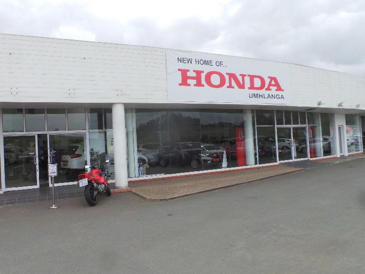 CMH Honda Umhlanga - New premises at 89 Flanders Drive, Mount Edge combe.
