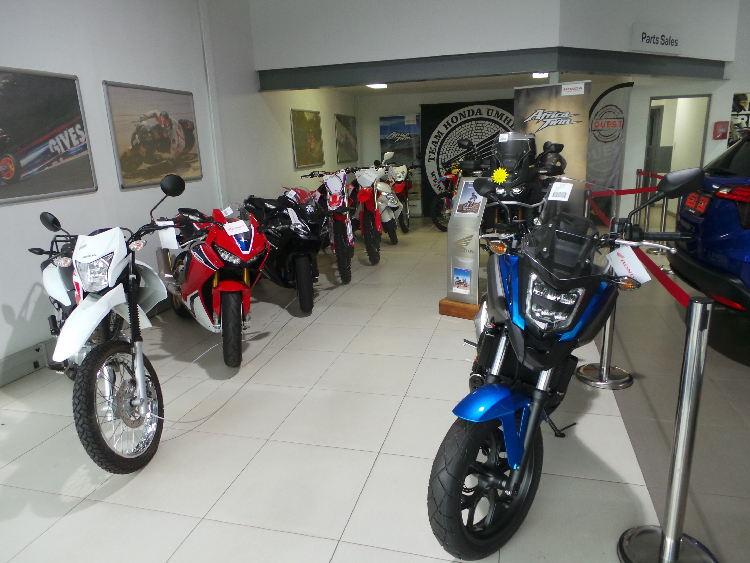 CMH Honda Umhlanga - New Showroom at 89 Flanders Drive, Mount Edgecombe.