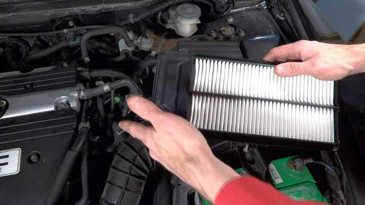 Checking-Air-filter