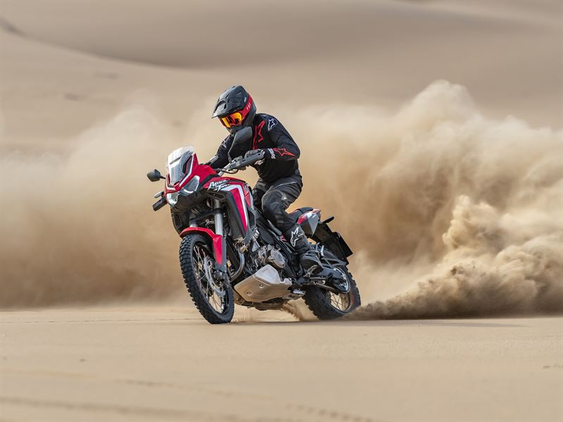 The New Africa Twin 2020 - Off - Road - Drifting