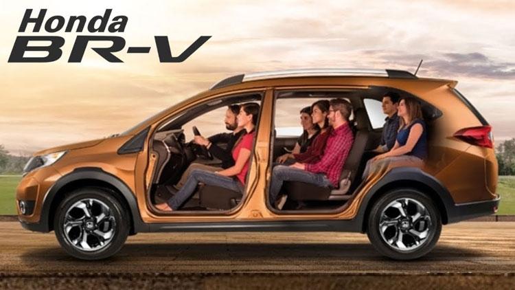 Honda BR-V-Sideview - CMH Honda Umhlanga