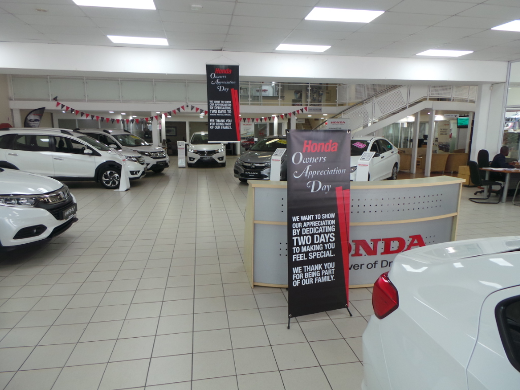 Honda Owners Appreciation Day - The dealership