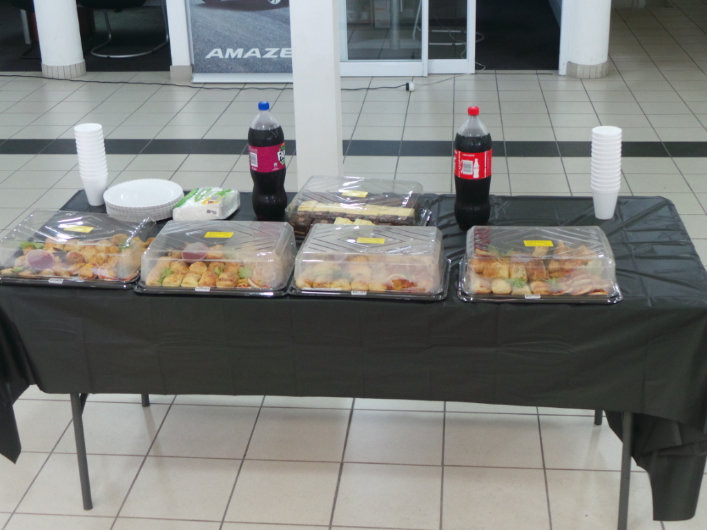 Honda Owners Appreciation Day - refreshments