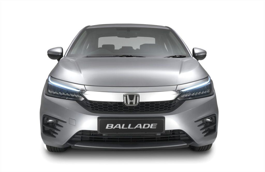 Honda Ballade front