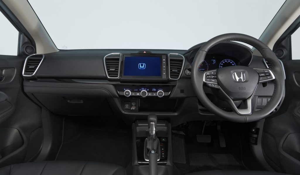 Honda Ballade interior
