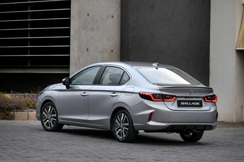 Honda Ballade rear
