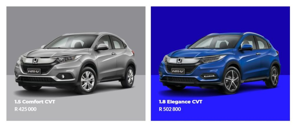 Honda HR-V models